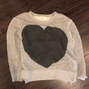 Heart sweatshirt from Madewell